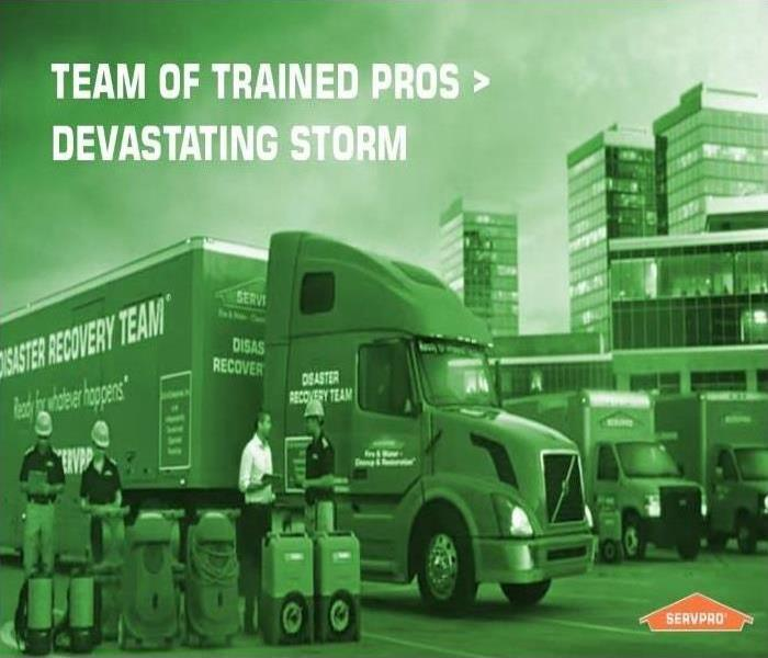 Why SERVPRO When Storms or Floods Hit, SERVPRO of Paulding/Polk Counties is Ready